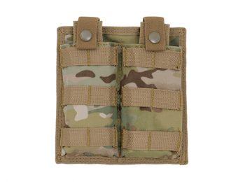 Portincarcator dublu cu acces rapid multicam - 8Fields magazin Squad Store