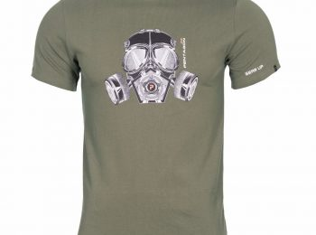 Tricou Gas Mask olive S - Pentagon