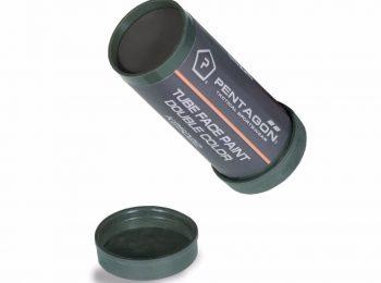 Vopsea camuflaj fata 2 culori olive-negru - Pentagon