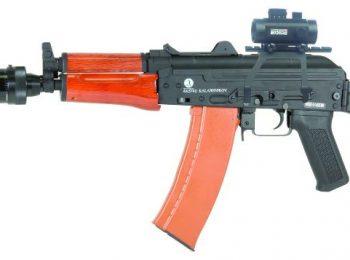 Replica Kalashnikov AKS74U full metal lemn - CyberGun