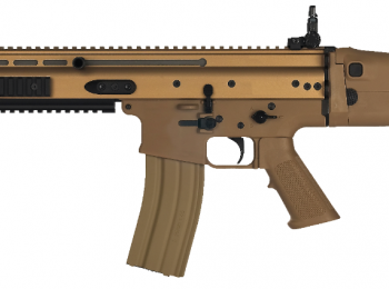 Replica FN SCAR dark earth - CyberGun
