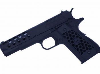 Replica Colt 1911 Hex Cut Green Gas full metal - WE