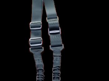 Curea tactica 2 puncte Bungee neagra - Swiss Arms
