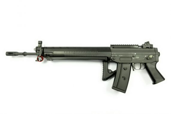 Replica Sig Sauer 550 full metal cu blow-back - Swiss Arms