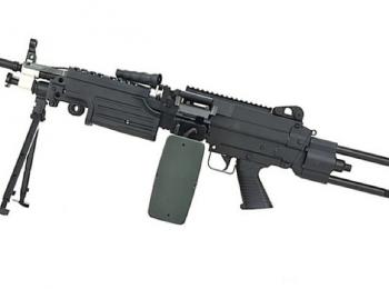 Replica FN M249 PARA negru - Cybergun