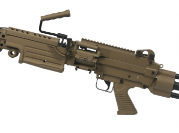 Replica FN M249 PARA tan - Cybergun