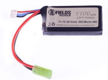Acumulator Li-Po 11.1 V/1100 mAh 20/40C - 8Fields magazin Squad Store