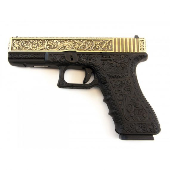 Replica pistol G17 ivory cu blow-back - WE