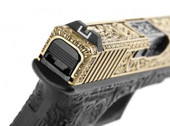 Replica pistol G17 ivory cu blow-back - WE