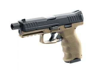 Replica pistol H&K SFP9 (VP9) slide metal tan - Umarex