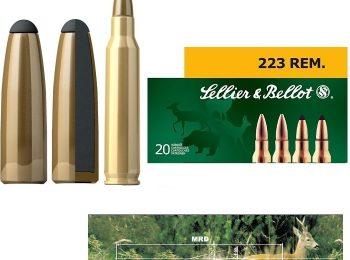 Cartus Sellier & Bellot Calibrul 223REM/Teilmantel/3.6 G