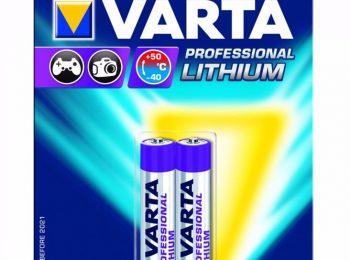 Baterie AAA Varta Profesional litiu - VARTABaterie AAA Varta Profesional litiu - VARTA