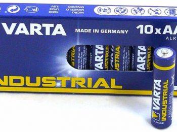Baterie R3 1.5 V Varta Industrial - VARTA