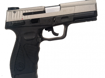Replica Taurus 24/7 CO2 blowback dual tone/silver- CyberGun