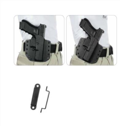 accesorii toc pistol negru prime