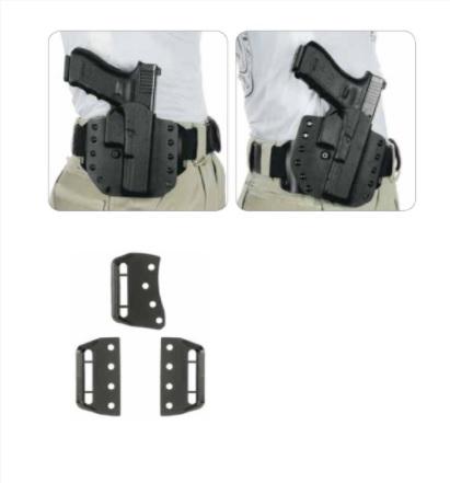 accesoriu toc pistol negru material rezistent