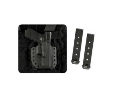 accesorii suplimentare toc pistol negru polimer