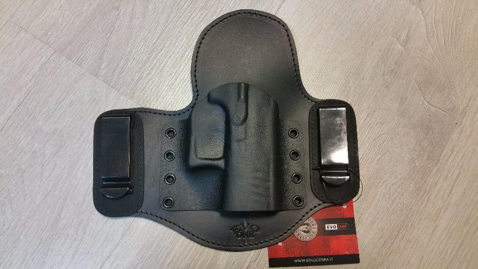 Toc pistol Evo One Shadow cu suport P30 Kydex - King Cobra magazin Squad Store