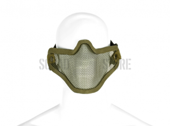 Masca din plasa metalica olive - Invader Gear