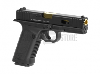 Replica Glock KWC17 slide metal metal blow-back CO2 - KWC