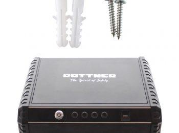 Caseta Pistol Rottner Gunmaster XL Încuietoare Biometrică